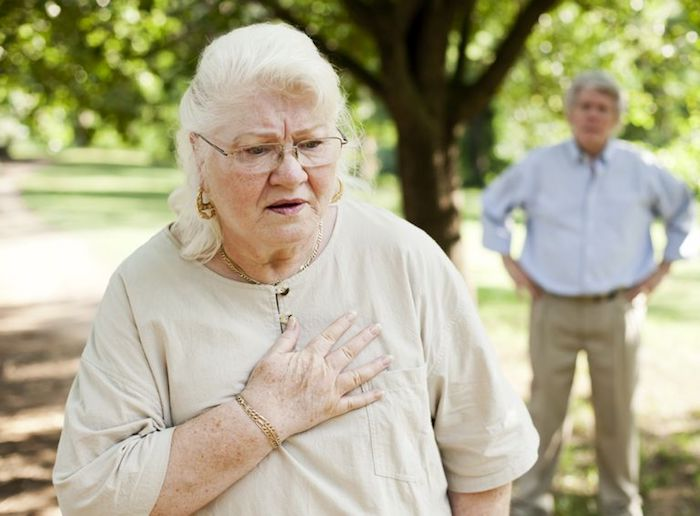 Falta de aliento y dolor en la respiración: causas