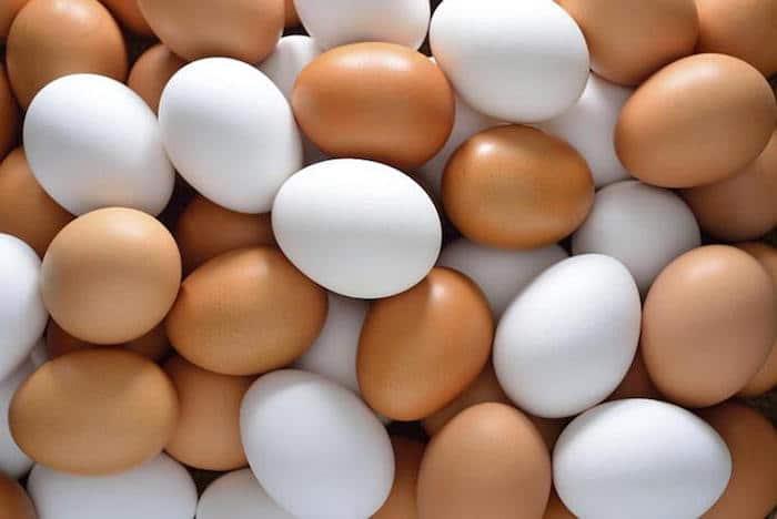 Los huevos son una fuente nutritiva de proteína.