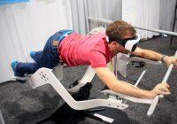 在运动期间佩戴VR耳机可以提高性能