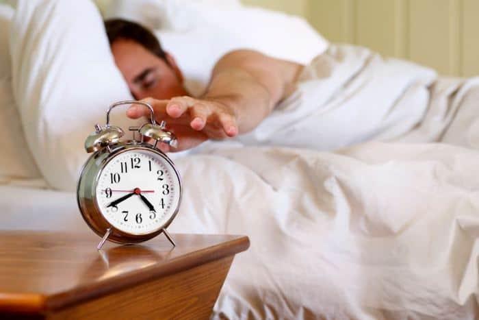 Schlafstörungen können niedrige Energieniveaus verursachen