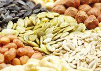 Las semillas y los frutos secos son ricos en arginina