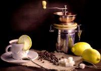 ¿Qué debe saber sobre la combinación de café y limón?