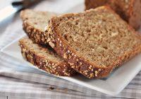 El pan de centeno es rico en fibra