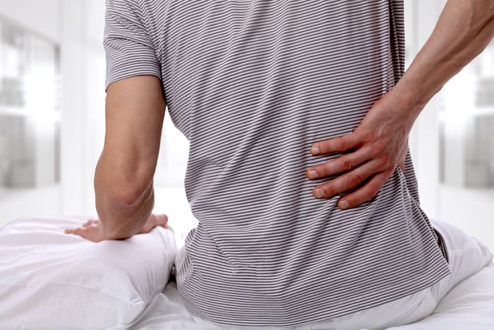 Eine gepulste Hochfrequenzbehandlung kann Rückenschmerzen lindern