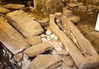 Les pratiques funéraires préhistoriques suggèrent que les gens savaient quelque chose sur la structure osseuse de l'homme il y a des milliers d'années