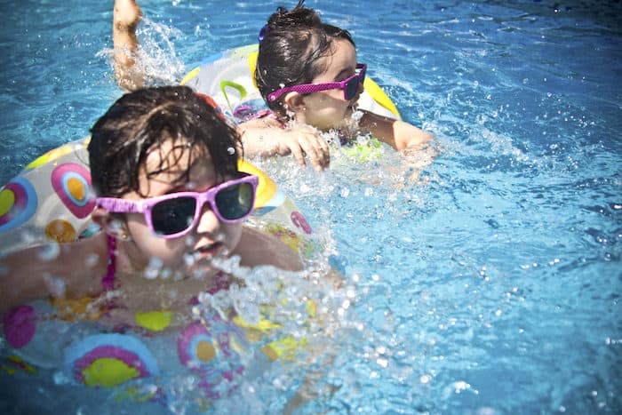 Efeitos colaterais do cloro da piscina