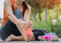 أسباب وعلاج تشنج القدم