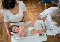 Peso promedio del bebé por mes