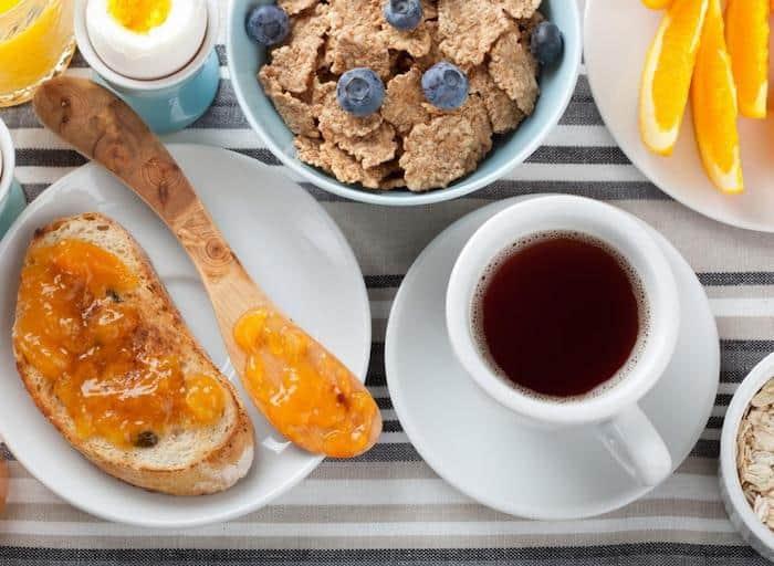 أفضل وجبات الإفطار لانقاص وزنه