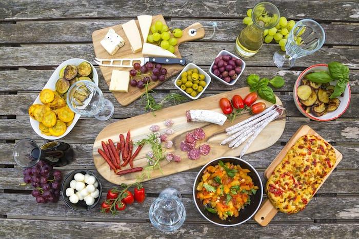 Dieta mediterránea y mejoras en el microbioma intestinal