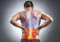 弯腰时背部疼痛